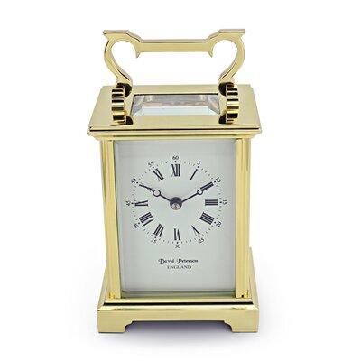 David Peterson Ltd Anglais Carriage Mantel Clock