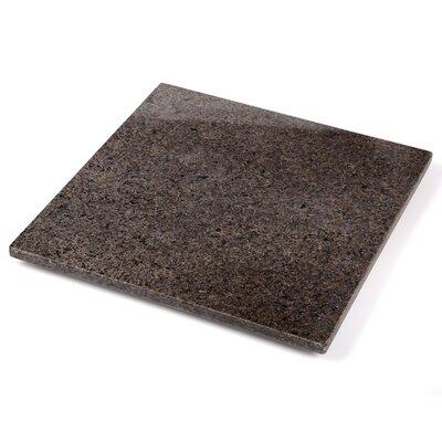 """Granite Cutting Board Size: 1"""" H x 12"""" W x 12"""" D"""