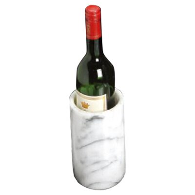 """Creative Home White Marble 6"""" Wine Chiller"""