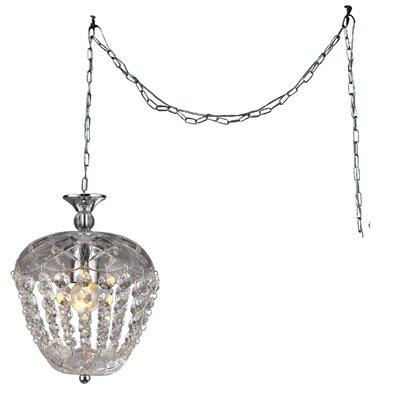 Miriam 1-light Crystal Pendant