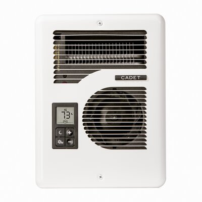 Com-Pak Series Energy Plus Multi-Watt 120/240-Volt Electric Fan Wall Heater
