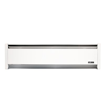 Softheat Hydronic Electric Convection Baseboard Heater Finish: White, Orientation: Right, Power: 750 W / 240 V / 3.13 Amps