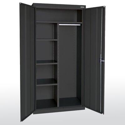 "Sandusky Cabinets Elite Series 72""H x 46""W x 24""D 2 Door Storage Cabinet"