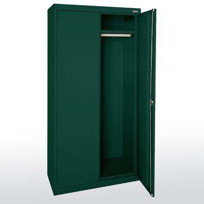 "Elite Series 72""H x 46""W x 24""D 2 Door Storage Cabinet Color: Forest Green"