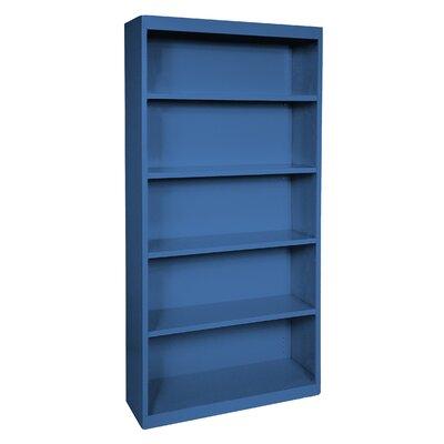 Elite Standard Bookcase Color: Blue