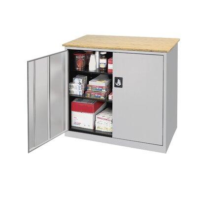 Elite Series 2 Door Storage Cabinet Color: Dove Gray