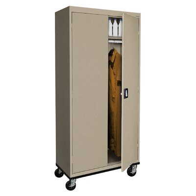 "Transport 78""H x 36""W x 24""D 2 Door Storage Cabinet Color: Tropic Sand"
