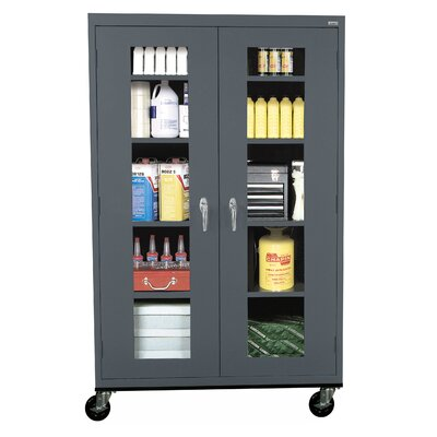 Transport 2 Door Storage Cabinet Color: Charcoal