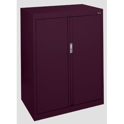 Systems Series 2 Door Storage Cabinet Color: Burgundy