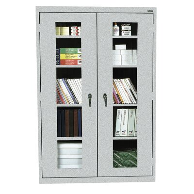 Classic Series 2 Door Storage Cabinet Color: Multi Granite
