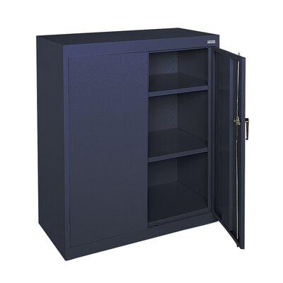 Classic Series 2 Door Storage Cabinet Color: Navy Blue
