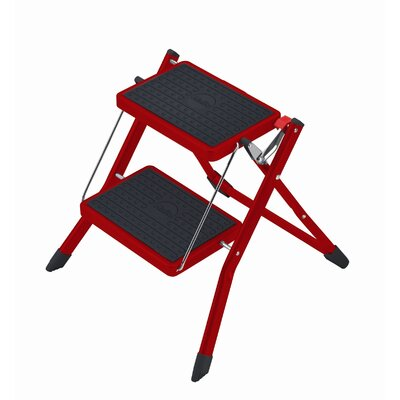 Hailo UK Ltd 2-step Steel Step Stool with Class EN131 (Professional) 159 kg