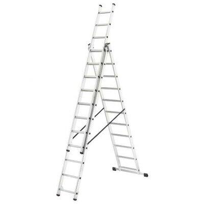 Hailo UK Ltd 7.95m Aluminum Extension ladder with Class EN131 (Professional) 159 kg