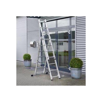Hailo UK Ltd 2.57m Aluminum Multi-Position ladder
