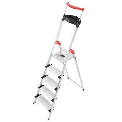 Hailo UK Ltd EasyClix 3.65m Aluminum Step ladder with Class EN131 (Professional) 159 kg