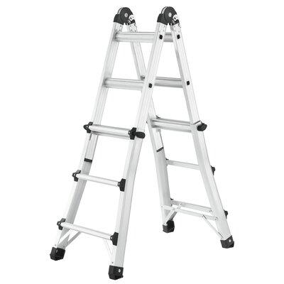 Hailo UK Ltd MTL 0.95m Aluminum Multi-Position ladder with Class EN131 (Professional) 159 kg