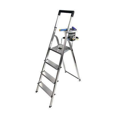 Hailo UK Ltd EasyClix 1.91m Aluminum Step ladder with Class EN131 (Professional) 159 kg