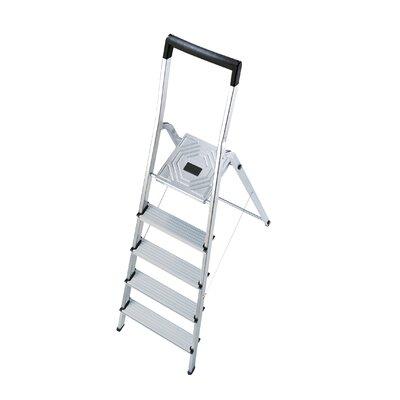 Hailo UK Ltd EasyClix 1.54m Aluminum Step ladder with Class EN131 (Professional) 159 kg