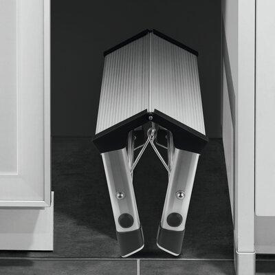 Hailo UK Ltd Step-Ke 2-step Aluminum Step Stool with Class EN131 (Professional) 159 kg