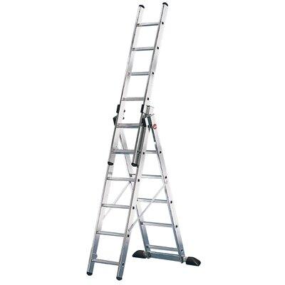 Hailo UK Ltd ProfiStep 4.72m Aluminum Extension ladder with Class EN131 (Professional) 159 kg
