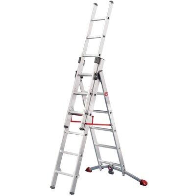 Hailo UK Ltd ProfiLot 4.8m Aluminum Extension ladder with Class EN131 (Professional) 159 kg