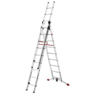Hailo UK Ltd ProfiLot 6.7m Aluminum Extension ladder with Class EN131 (Professional) 159 kg