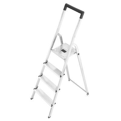 Hailo UK Ltd L40 2.59m Aluminum Step ladder with Class EN131 (Professional) 159 kg