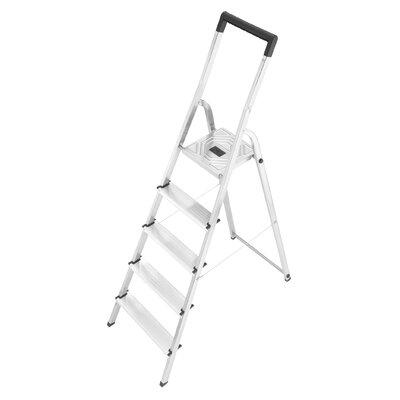 Hailo UK Ltd L40 2.81m Aluminum Step ladder with Class EN131 (Professional) 159 kg