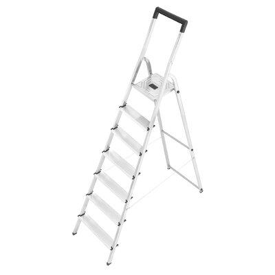 Hailo UK Ltd L40 3.25m Aluminum Step ladder with Class EN131 (Professional) 159 kg