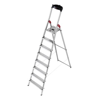 Hailo UK Ltd 3.46m Aluminum Step ladder with Class EN131 (Professional) 159 kg