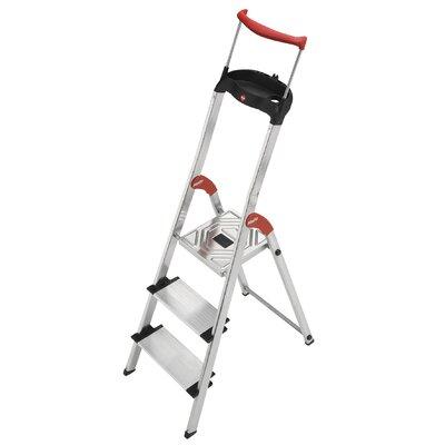 Hailo UK Ltd 237cm XXR ComfortLine Aluminium Safety Household Ladder