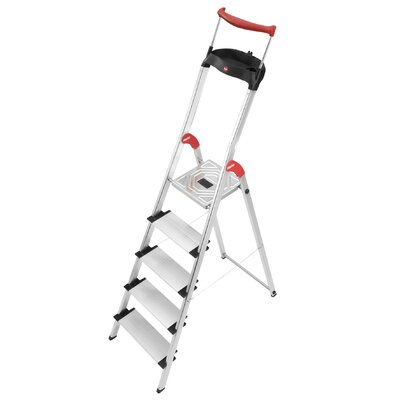 Hailo UK Ltd XXR ChampionsLine 2.81m Aluminum Step ladder with Class EN131 (Professional) 159 kg