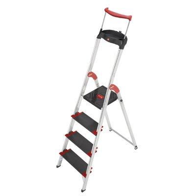 Hailo UK Ltd XXR 225 ChampionsLine 2.59m Aluminum Step ladder with Class I (Industrial) 175 kg