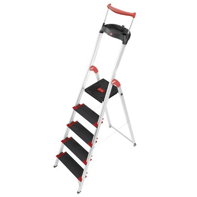 Hailo UK Ltd XXR 225 ChampionsLine 2.81m Aluminum Step ladder with Class I (Industrial) 175 kg