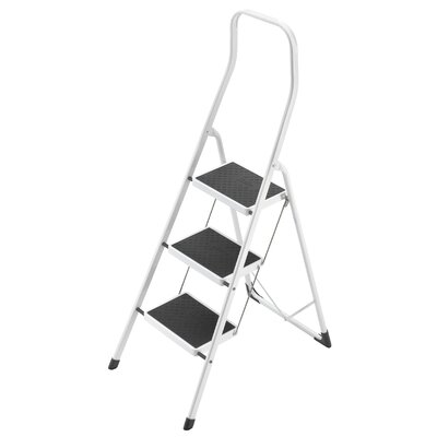 Hailo UK Ltd 3-step Plastic Step Stool with Class EN131 (Professional) 159 kg
