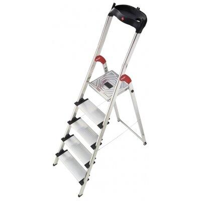 Hailo UK Ltd XXL 5-Step Aluminium Step Stool with Class EN131 (Professional) 159kg