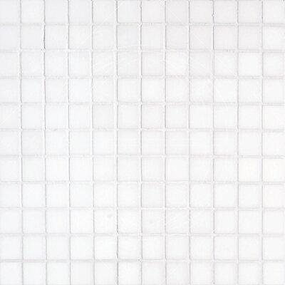 """Thassos 1"""" x 1"""" Marble Mosaic Tile in White"""