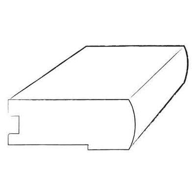 """Moldings Online 0.81"""" x 3.125"""" x 78"""" Maple Stair Nose"""
