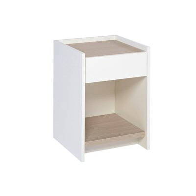 GillmoreSPACE Essentials 1 Drawer Bedside Table