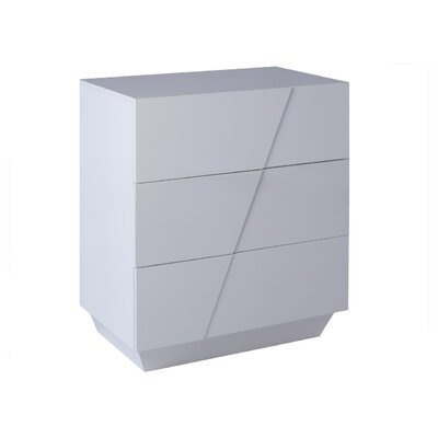 GillmoreSPACE Glacier 3 Drawer Chest of Drawers