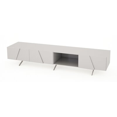 GillmoreSPACE Glacier TV Stand for TVs up to 60""