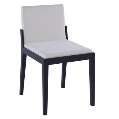 GillmoreSPACE Cordoba Solid Wood Upholstered Dining Chair