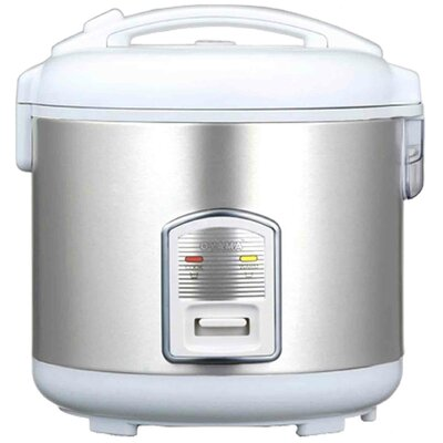 Rice Cooker, Warmer and Steamer Size: 2.5 Qt., Color: White