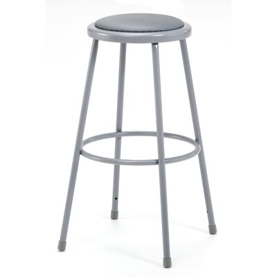 Padded Stool with Footring Size: 30""