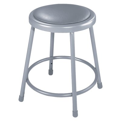 Padded Stool with Footring Size: 24""