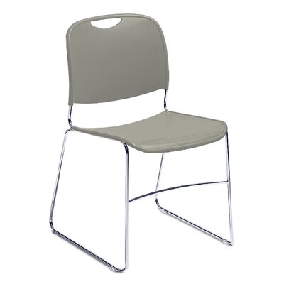 National Public Seating Hi Tech Ultra Compact Armless Stacking Chair
