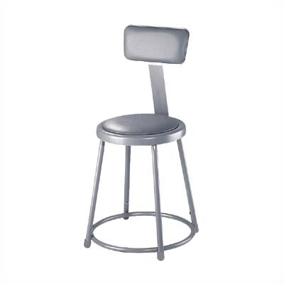 Stool with Adjustable Backrest Size: 18""