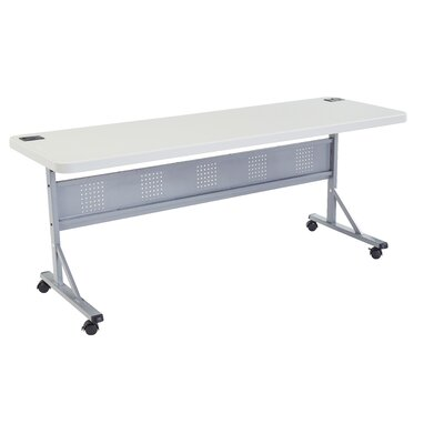 "Flipper Training Table with Modesty Panel Size: 29.5"" H x 72"" W x 24"" D"