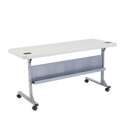 "Flipper Training Table with Modesty Panel Size: 29.5"" H x 60"" W x 24"" D"