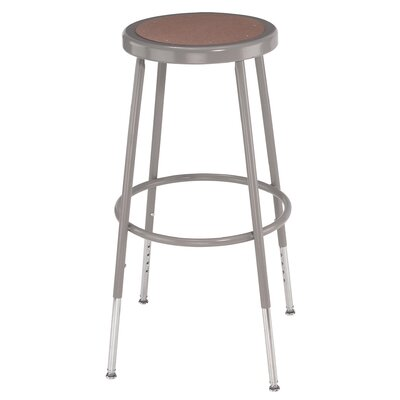 Height Adjustable Drafting Stool with Footring Size: 30""